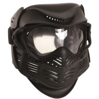 maschera-softair-paintball con lenti